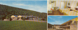 Mahoning Court Hotel PA Postcard x0164 (Image1)