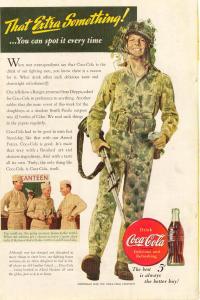 Coca Cola  Ad x0178 Aug1943 Extra Something (Image1)