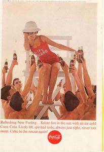Coca Cola  Ad x0236 July 1963 (Image1)