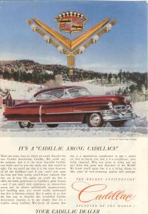 1952 Cadillac Hardtop Ad Van Cleef Jewels (Image1)