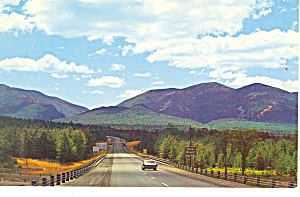 Highway White Mountains Nh Postcard X0294