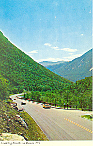 Looking South Rt 302 White Mountains Nh Postcard X0296