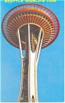 Seattle World s Fair Eye of the Needle Postcard p10998 1962