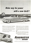 Click here to enlarge image and see more about item aad0204: 1953 Buick Roadmaster Convertible Ad