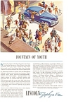 Click here to enlarge image and see more about item ad0011: Lincoln Zephyr V-12 Ad ca 1940