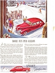 Click here to enlarge image and see more about item ad0012: Lincoln Zephyr V-12 Ad ca 1941