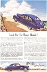 Click here to enlarge image and see more about item ad0014: Lincoln Zephyr V-12 Ad May 1941