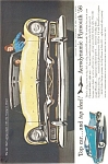 Plymouth Belvedere Convertible AD ad0015 1956