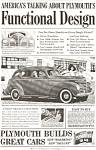 Click here to enlarge image and see more about item ad0019: Plymouth Deluxe Touring Sedan AD ad0019 1939