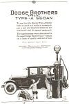 Click here to enlarge image and see more about item ad0023: Dodge Type A Sedan AD ad0023  ca 1924