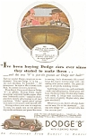 Click here to enlarge image and see more about item ad0024: Dodge 8 AD ad0024  ca 1933