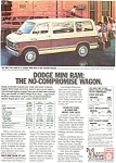 Click here to enlarge image and see more about item ad0031: 1983 Dodge Ram Wagons Ad ad0031