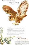 Click here to enlarge image and see more about item ad0049: Travelers Insurance Owl  Ad