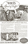 Plymouth  Afraid of Traffic  Ad ad0065 1934