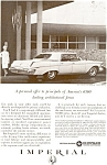 Click here to enlarge image and see more about item ad0085: Chrysler Imperial Lebaron Ad 1963