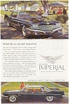 Click here to enlarge image and see more about item ad0086: Chrysler Imperial Ad 1960