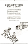 Click here to enlarge image and see more about item ad0090: Dodge Type B Sedan Ad ad0090 1924