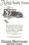 Dodge New Body Lines Ad 1927