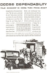 Click here to enlarge image and see more about item ad0095: Dodge 6 and 8  Ad ad0095 ca 1930