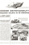 Click here to enlarge image and see more about item ad0096: Dodge Mileage Marathon  Ad ad0096