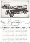 Click here to enlarge image and see more about item ad0097: 1931 Dodge 8 Coupe and Sedan 6  Ad ad0097