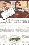 Click here to enlarge image and see more about item ad0098: 1933 Dodge 8  Ad ad0098