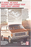 Click here to enlarge image and see more about item ad0103: Dodge Ram Value Wagon Advertisement ad0103 1984