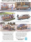Plymouth Voyager Advertisement ad0104 1984