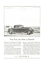 Lincoln V-8 Two Passenger Coupe Advertisement 1932