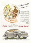 Click here to enlarge image and see more about item ad0118: 1946 Ford in Your Future Ad
