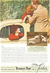Click here to enlarge image and see more about item ad0125: Turret Top Body by Fisher with Chevrolet 1936 Ad