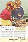 Click here to enlarge image and see more about item ad0126: Turret Top Body by Fisher with Oldsmobile1936 Ad ad0126