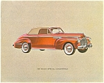 Lot of Four Buick Prints