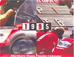 Click here to enlarge image and see more about item ad0147: Marlboro Team Penske Calender 1995 ad0147