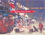 Click here to enlarge image and see more about item ad0148: Marlboro Team Penske Calender 1997