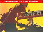 Click here to enlarge image and see more about item ad0150: Marlboro Team Penske Special Offers 1997 ad0150