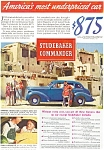Click here to enlarge image and see more about item ad0152: Studebaker Commander Advertisement 1930s ad0152