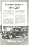 Click here to enlarge image and see more about item ad0153: 1938 Buick Roadmaster Ad