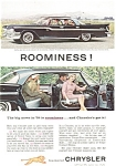 Click here to enlarge image and see more about item ad0157: 1959 Chrysler Windsor 4 Door Hardtop Ad ad0157