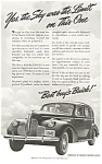 Click here to enlarge image and see more about item ad0165: 1940 Buick Limited Ad