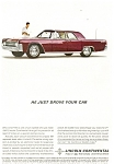 Click here to enlarge image and see more about item ad0167: 1962 Lincoln Continental Ad