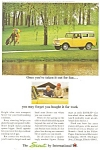 Click here to enlarge image and see more about item ad0168: 1965 Scout by International Ad