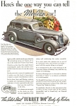 Click here to enlarge image and see more about item ad0169: 1936 Buick Century Fisher Body  Ad ad0169