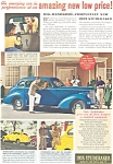 Click here to enlarge image and see more about item ad0170: 1938 Studebaker Ad ad0170