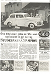 Click here to enlarge image and see more about item ad0171: 1940 Studebaker  Champion Ad ad0171