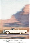 Click here to enlarge image and see more about item ad0173: 1959 Thunderbird Convertible Ad ad0173