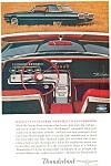 Click here to enlarge image and see more about item ad0175: 1964 Thunderbird Hardtop Ad ad0175