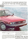 Click here to enlarge image and see more about item ad0180: 1980 Audi 4000 Ad