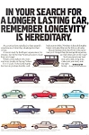 Click here to enlarge image and see more about item ad0185: Volvo Ad Cars From 30s to 80s