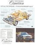 1982 Cadillac Cimarron Ad